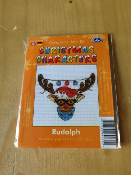 Rudolph Christmas Character DMC Mini Kit